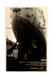 HSDG, Dampfschiff Cap Arcona Im Dock, Havarie, Werft