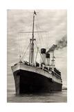 Dampfer MS Olivia Der HSDG Auf Hoher See