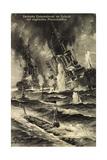Kunstler Jensen,Deutsche U Boote, Engl. Panzerschiffe