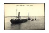 Le Havre, Schlepper Im Hafen, Segelboote