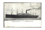 Hapag, Dampfschiff P.D. President Lincoln