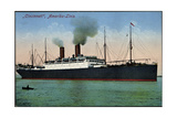 Hapag, Dampfschiff Cincinnati, Amerika Linie