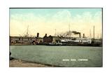 Liverpool North East, Sandon Docks with Steamer