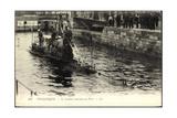 U Boot Dunkerque Beim Einlauf in Den Hafen