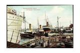 Bremerhaven, Norddeutscher Lloyd, Hafenbetrieb, Schiffe
