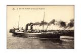 Calais, Dampfschiff Fahrt Ab Nach England, Malle
