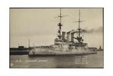 Kriegsschiff S. M. Linienschiff Preu?en Im Hafen