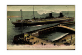 Le Havre, Paquebot La Provence, Sgtm, Port