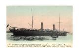 Ostende, L'Entree De La Malle Au Port, Fahrschiff