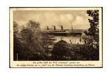 Hapag, Dampfschiff Vaterland, 25.April.1914,Elbufer