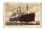 United States Lines, S.S. George Washington, Dampfer