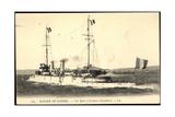 La Hire Kreuzt U Boot, Kriegsschiff