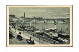 Dresden Elbe, Dampfer Kaiser Wilhelm, Landeplatz