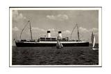 HSDG, M.S. Monte Olivia, Dampfschiff, Segelboote