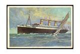 Hapag, United American Lines, Dampfer Resolute