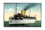 Hapag, Turbinen Dampfschiff Kaiser in Fahrt