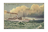 Kunstler Lloyd Bremen, S.S. Prinz Heinrich, Dampfer