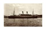 HSDG, Motorschiff, Monte Dampfschiff an Der Kuste