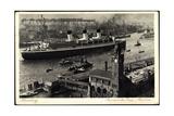 Hamburg, Hsdg Dampfer Cap Arcona, Ausreise