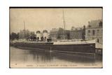 Newhaven South East, Le Steamer La Manche, Dampfer