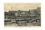 Dresden, Italienische Dorfchen,Elbe,Dampfer Tetschen