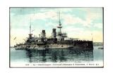 Le Charlemagne Im Hafen, Kriegsschiff