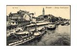 Dresden, Helbigs Etablissement, Dampfer Riesa