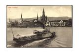 Konstanz, Dampfer Habsburg, Bodensee, Insel Hotel