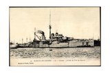 Franzosisches Kriegsschiff Courbet, Port De Guerre
