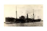 Dampfer City of Westminster, Steamer Near Port