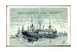 Kunstler Norddeutscher Lloyd Bremen, Dampfschiff