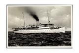 Ostsee Dampfer S.S. Rugard, Dampfer, Fahrschiff