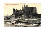 Mei?en Sachsen, Dampfer Schandau, Albrechtsburg