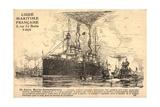 Franzosisches Kriegsschiff, U Boot,Croiseur,Sousmarin