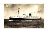 French Line Cgt, De Grasse, Dampfschiff in Fahrt