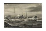Kunstler Ilabad, U Boot Deutschland Auf Hoher See
