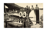 Foto Achensee, Tirol, Rundfahrt, 2 Juni 1926, Boot