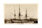 H.M.S. Victory, Sailing Ship, Canonship, Port