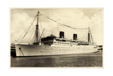 Furness, Withy and Co, Dampfschiff Bermuda Vor Anker
