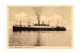 Hapag, S.S. Deutschland, Dampfschiff, Rauch
