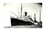 Foto Norddeutscher Lloyd Bremen, Dampfschiff Bremen