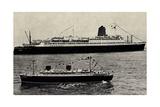 Lloyd Bremen, Modellschiff, Dampfschiff Bremen