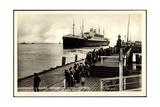 Cuxhaven, Dampfschiff Albert Ballin, Hapag