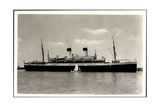 HSDG, Dampfschiff M.S. Monte Pascoal Vor Anker
