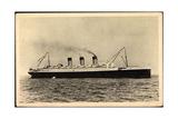French Line, Cgt, S.S. Paris, Dampfschiff in Fahrt