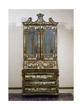 Venetian Poor Man's Lacquer Cabinet-Writing Desk, Italy