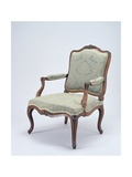 Rococo Style Armchair, Stamped Gautier, France