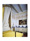 Louis XVI's Neo-Classical Style Bedroom, Romantic Museum, Sitges, Spain