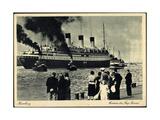 Hamburg, HSDG, Ausreise Der Cap Arcona, Dampfer
