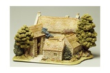 George Inn, Miniature, Ceramic, Lilliput Lane Manufacture, Carlisle, Cumbria, England
